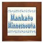 Mankato Minnesnowta Framed Tile