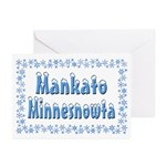 Mankato Minnesnowta Greeting Cards (Pk of 20)
