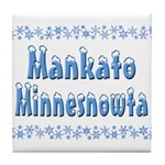 Mankato Minnesnowta Tile Coaster
