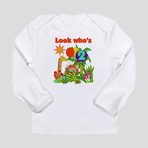 Safari 2nd Birthday Long Sleeve Infant T-Shirt