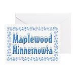 Maplewood Minnesnowta Greeting Card
