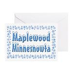 Maplewood Minnesnowta Greeting Cards (Pk of 20)
