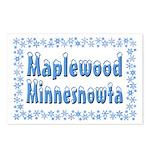 Maplewood Minnesnowta Postcards (Package of 8)