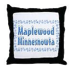 Maplewood Minnesnowta Throw Pillow