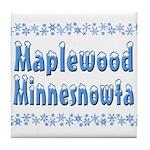 Maplewood Minnesnowta Tile Coaster