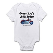 Grandpa's Little Rider Infant Bodysuit
