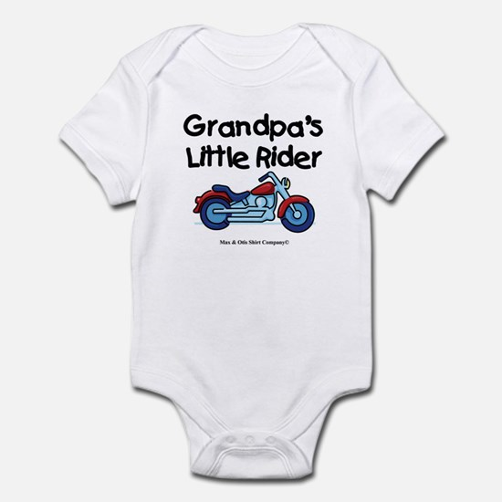 Grandpa's Little Rider Infant Bodysuit