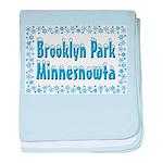 Brooklyn Park Minnesnowta baby blanket