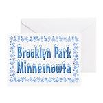 Brooklyn Park Minnesnowta Greeting Card
