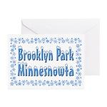 Brooklyn Park Minnesnowta Greeting Cards (Pk of 20