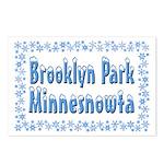 Brooklyn Park Minnesnowta Postcards (Package of 8)