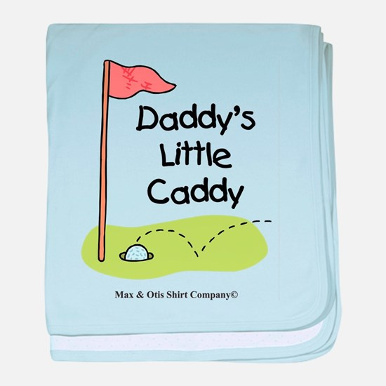 Daddy's Little Caddy baby blanket