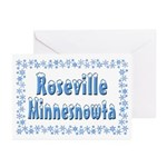 Roseville Minnesnowta Greeting Cards (Pk of 20)