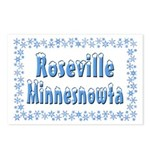 Roseville Minnesnowta Postcards (Package of 8)