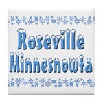 Roseville Minnesnowta Tile Coaster