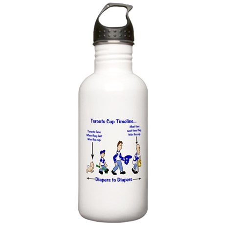 Toronto Cup Timeline Stainless Water Bottle 1.0L
