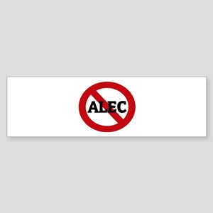 Anti-Alec Bumper Sticker