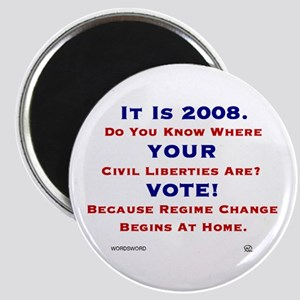 It Is 2008 VOTE Magnet