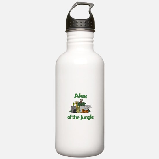Alex of the Jungle Water Bottle