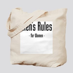 Men's Rules Tote Bag