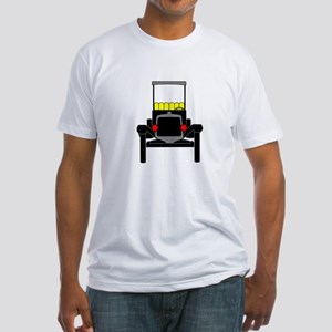 Vintage Cars Fitted T-Shirt