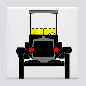 Vintage Cars Tile Coaster