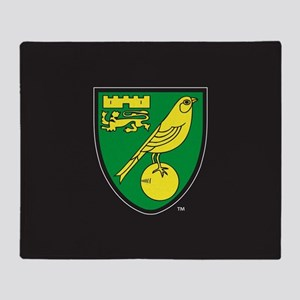 Norwich City Canaries Throw Blanket