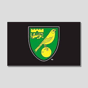 Norwich City Canaries Car Magnet 20 x 12