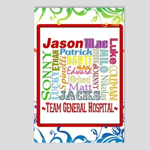 Team General Hospital Postcards (Package of 8)