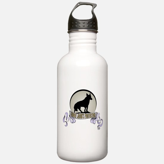 Protected by Jacob Water Bottle