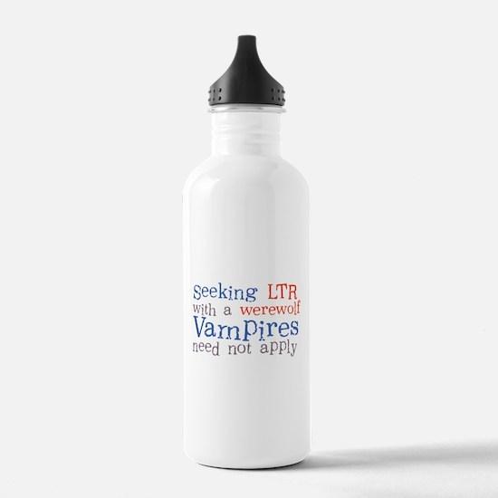 Seeking Werewolf Water Bottle