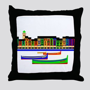 Portofino Inspirations Throw Pillow