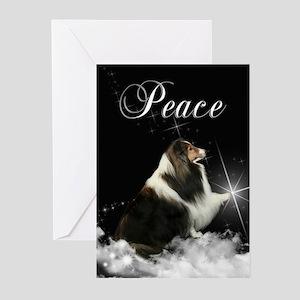 Magic Sheltie Xmas Cards (Pk of 20)