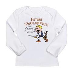 Elan: Future Protagonist Long Sleeve Infant T-Shir