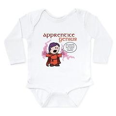V: Apprentice Genius Long Sleeve Infant Bodysuit