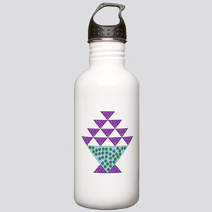 Flower Pot Quilt Stainless Water Bottle 1.0L