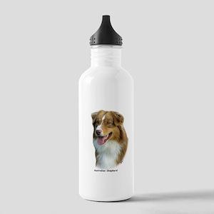 Australian Shepherd 9K4D-16 Stainless Water Bottle