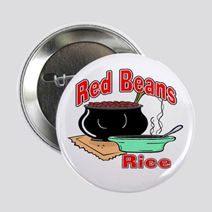 """Red Beans and Rice 2.25"""" Button (10 pack)"""