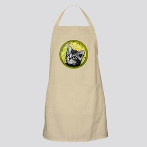 What part of meow...grey tabby Apron