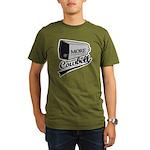 More cowbell Organic Men's T-Shirt (dark)