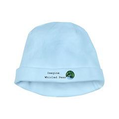 Imagine Whirled Peas baby hat