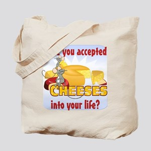 Accept Cheeses Tote Bag