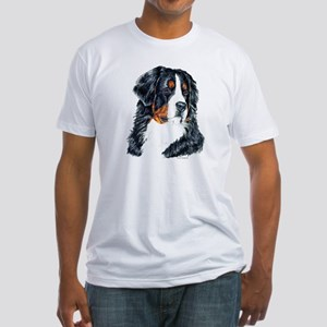 Bernese Mountain Dog Fitted T-Shirt