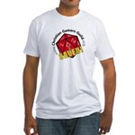 Cgg Logo Men's Fitted T-Shirt