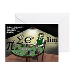 No Limit Poker Greeting Card
