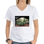 No Limit Poker Women's V-Neck T-Shirt