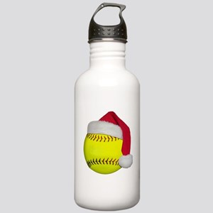Softball Santa Stainless Water Bottle 1.0L