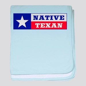 Native Texan baby blanket