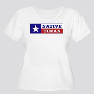 Native Texan Women's Plus Size Scoop Neck T-Shirt