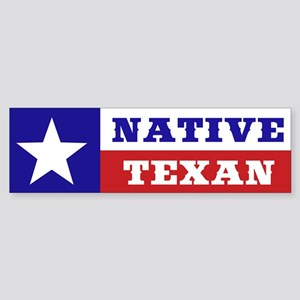 Native Texan Sticker (Bumper)